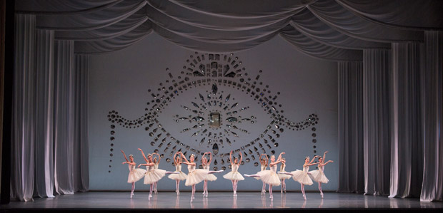 Boston Ballet in <I>Diamonds</I>, © The George Balanchine Trust.<br />© Rosalie O'Connor. (Click image for larger version)