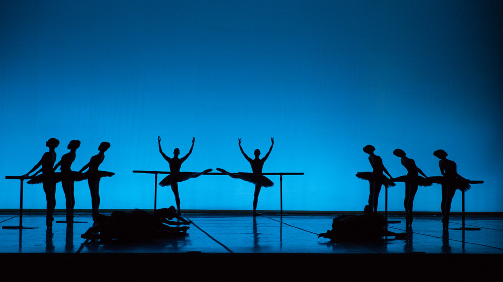 Boston Ballet in Harold Lander's <I>Études</I>.<br />© Rosalie O'Connor. (Click image for larger version)