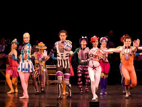 Birmingham Royal Ballet in <I>Elite Syncopations</I><br />© Bill Cooper. (Click image for larger and fuller version)
