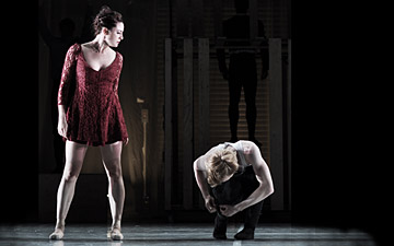 Zoe Ashe-Browne and Dominic Harrison in Carmen.© Ewa Figaszewska. (Click image for larger version)