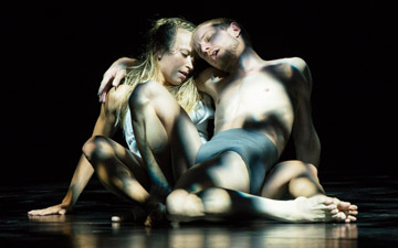 James O'Hara and Olivia Ancona in Faun.© Foteini Christofilopoulou. (Click image for larger version)