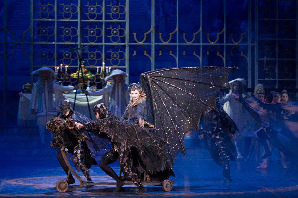 Anjella Kounetsova as Carabosse in <I>The Sleeping Beauty</I>.<br />© Francesco Squeglia. (Click image for larger version)
