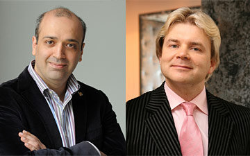 Georgy Isaakyan and Andris Liepa.© Georgy Isaakyan and Andris Liepa. (Click image for larger version)