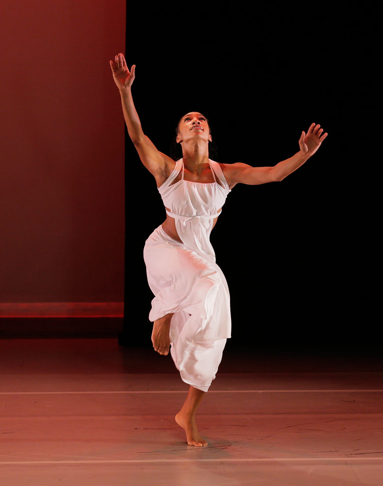 Demetia Hopkins in Ronald K. Brown's Grace.© Paul Kolnik. (Click image for larger version)