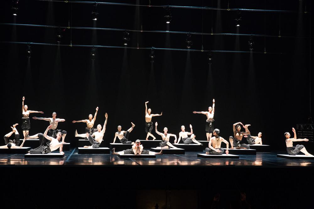 Boston Ballet in Alexander Ekman's <I>Cacti</I>.<br />© Rosalie O'Connor. (Click image for larger version)