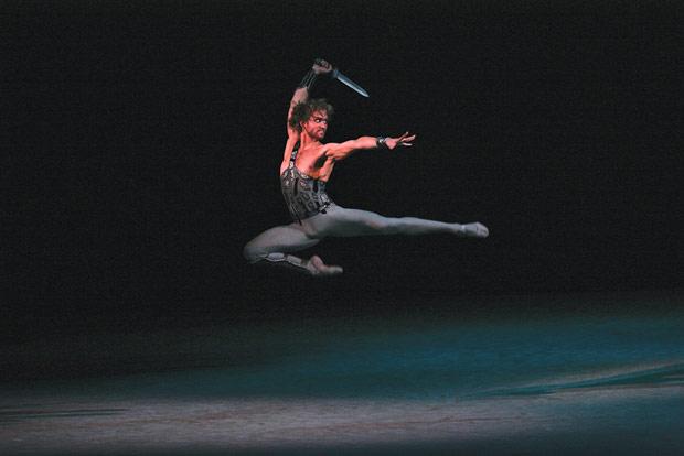 Mikhail Lobukhin in <I>Spartacus</I>.<br />© Damir Yusupov. (Click image for larger version)