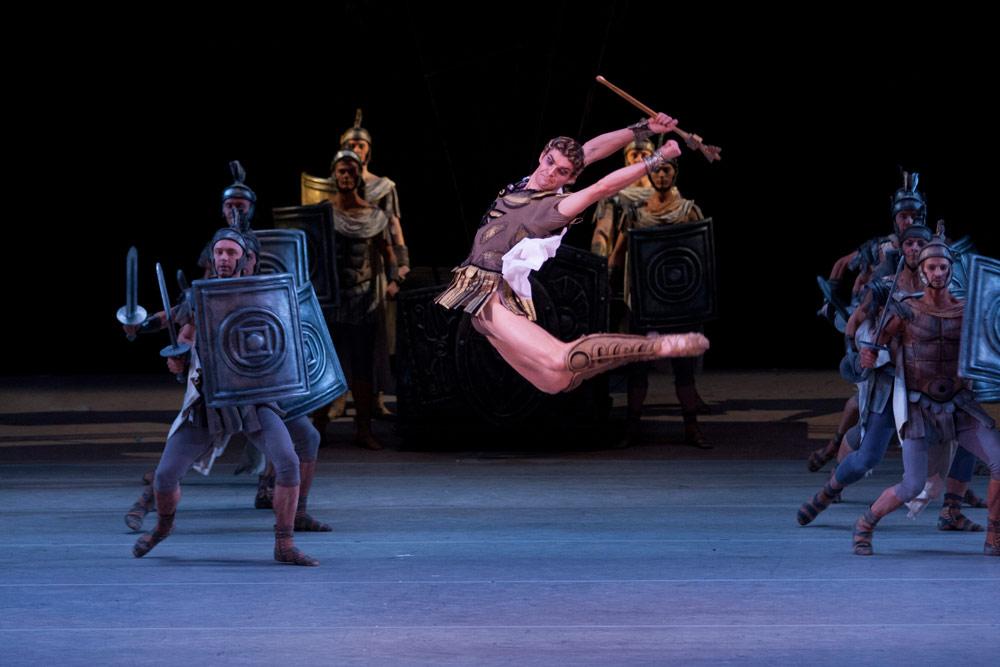 Alexander Volchkov as Crassus in <I>Spartacus</I>.<br />© Elena Fetisova. (Click image for larger version)