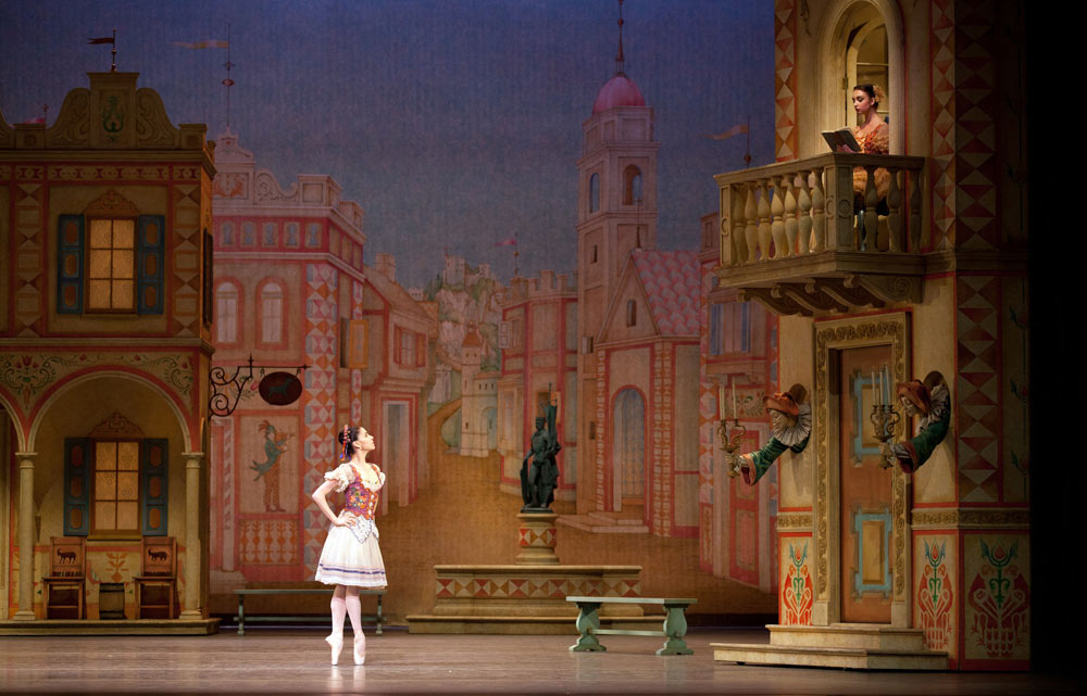 Paloma Herrera in <I>Coppélia</I>.<br />© Rosalie O'Connor. (Click image for larger version)