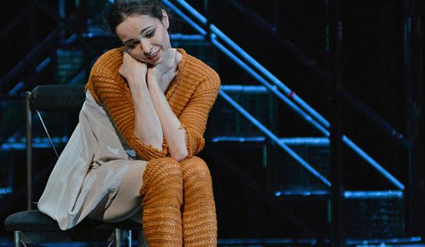 Diana Vishneva in <I>Cinderella</I>.<br />© Dave Morgan. (Click image for larger version)
