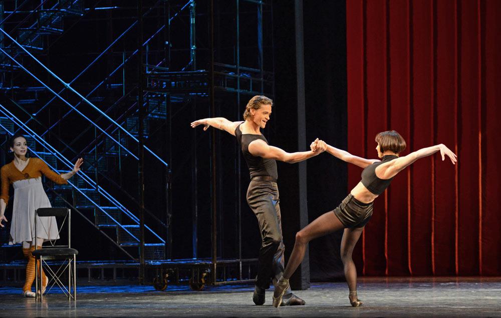 Yuri Smekalov and Zlata Yalinich (dance teachers) in <I>Cinderella</I>.<br />© Dave Morgan. (Click image for larger version)