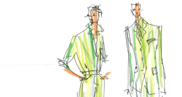 Isaac Mizrahi designs for <I>Acis and Galatea</I>.<br />© Isaac Mizrahi. (Click image for larger version)