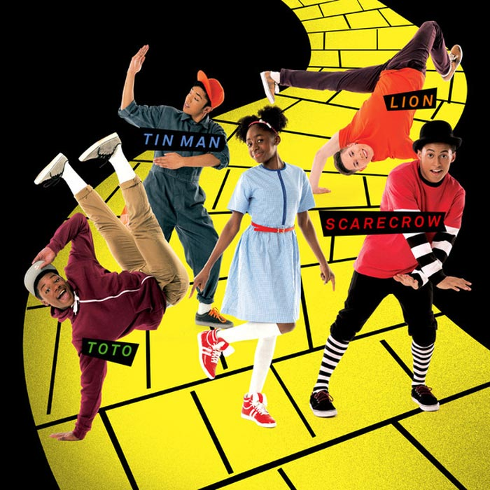 Publicity image for ZooNation Youth Company in <I>Groove On Down The Road</I>.<br />© Southbank Centre. (Click image for larger version)