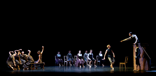 Scottish Ballet dancers in Helen Pickett's <I>The Crucible</I>.<br />© Andy Ross. (Click image for larger version)