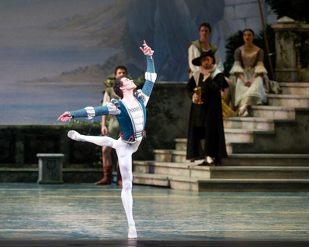 Cory Stearns in <I>Swan Lake</I>.<br />© Gene Schiavone. (Click image for larger version)