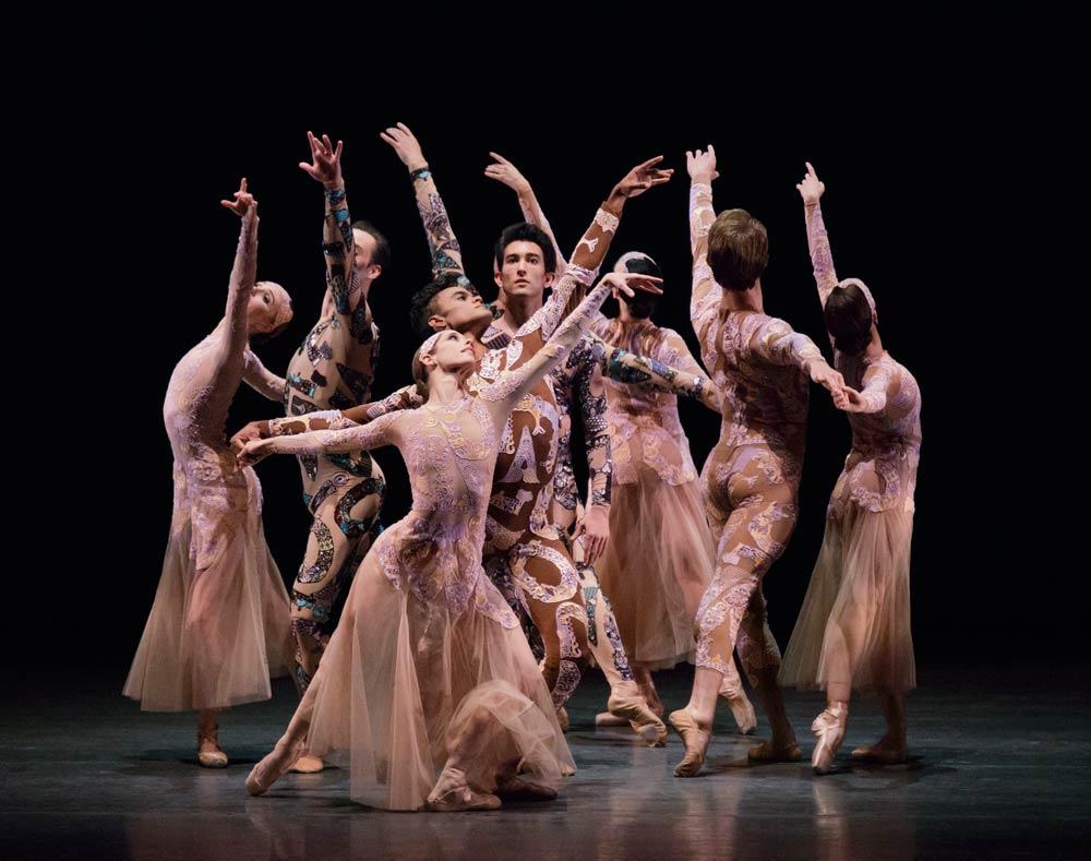 New York City Ballet in Justin Peck's Belles-Lettres.© Paul Kolnik. (Click image for larger version)