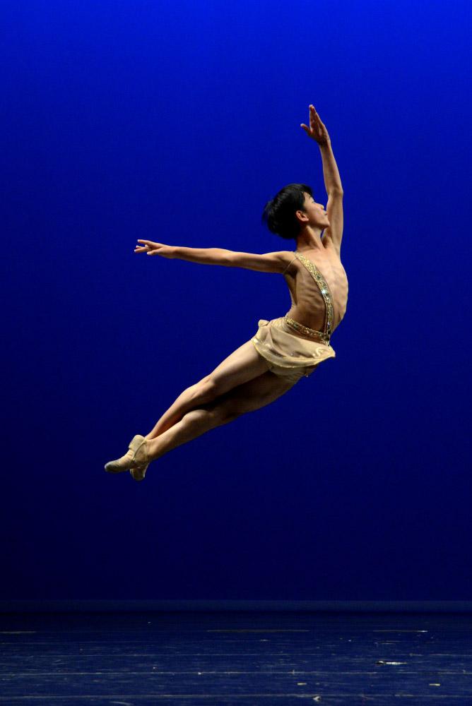Eun-Soo Lee - Ballet Pre Junior 1st Prize Winner.© Sunkyung Reina Jang. (Click image for larger version)