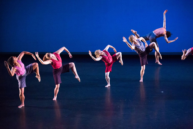Mark Morris Dance Group in <I>Words</I>.<br />© Ani Collier. (Click image for larger version)