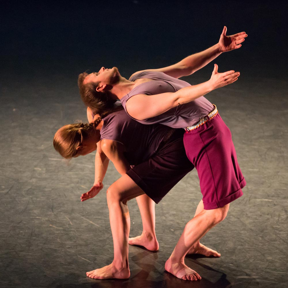 Jenn Weddel and Dallas McMurray in Words by Mark Morris. (Click image for larger version)
