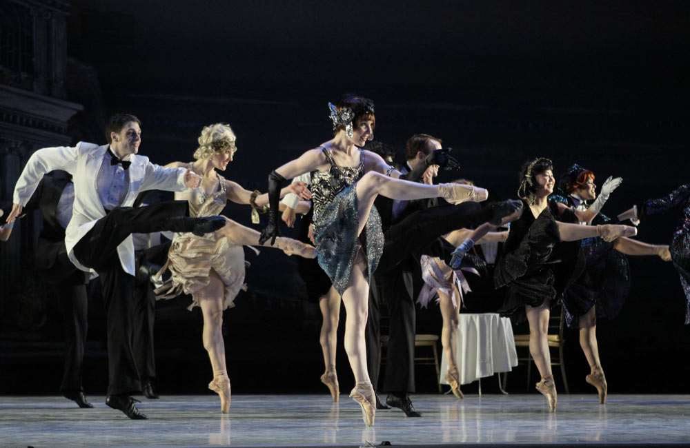Washington Ballet in Septime Webre's The Great Gatsby.© Carol Pratt. (Click image for larger version)