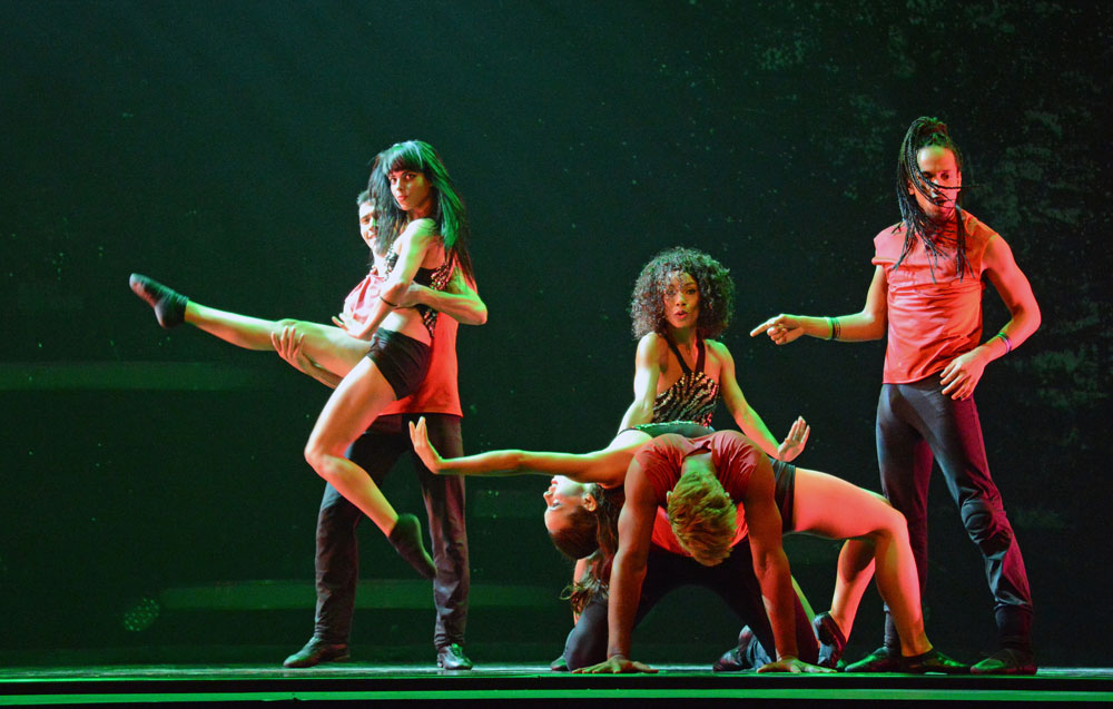 Ballet Revolucion's 2014 show.© Dave Morgan. (Click image for larger version)