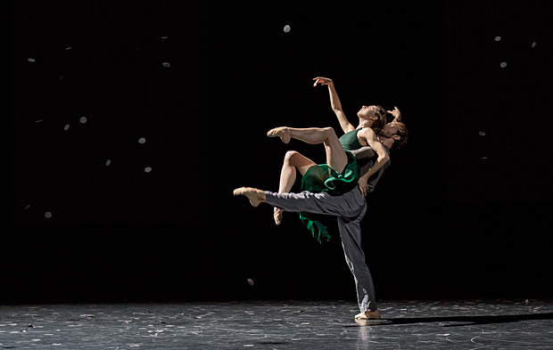 Isabella Boylston and James Whiteside in Pontus Lidberg's <I>This Was Written on Water</I>.<br />© Daniel Robinson. (Click image for larger version)