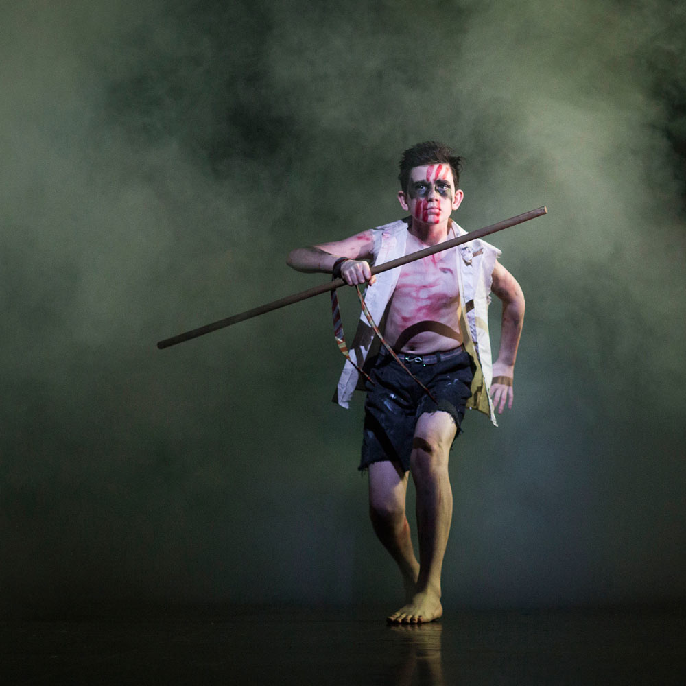 Matthew Bourne and Scott Ambler's <I>Lord of the Flies</I>.<br />© Helen Maybanks. (Click image for larger version)