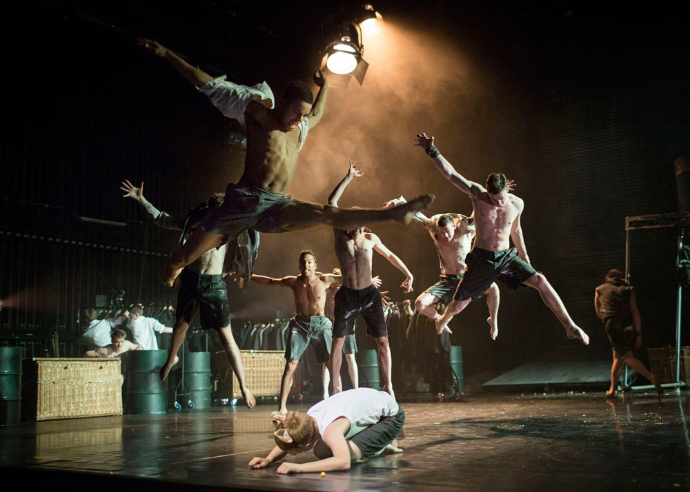 Matthew Bourne and Scott Ambler's Lord of the Flies.© Helen Maybanks. (Click image for larger version)