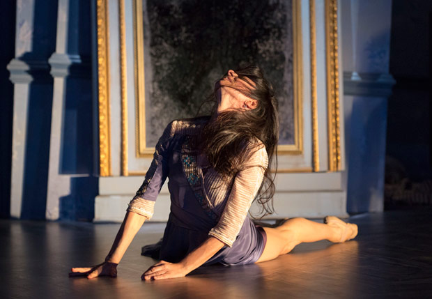 Alessandra Ferri in Martha Clarke's <I>Cheri</I>.<br />© Joan Marcus. (Click image for larger version)