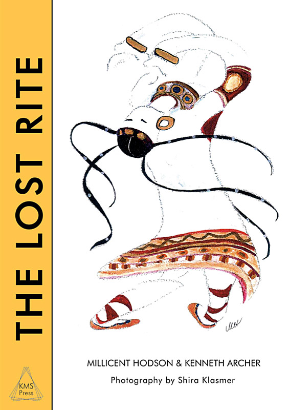 The Lost Rite book cover - drawing by Millicent Hodson.© KMS Press and Millicent Hodson. (Click image for larger version)