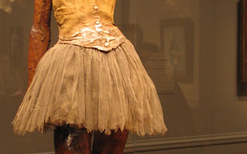 Little Dancer Aged Fourteen by Edgar Degas.© Oksana Khadarina. (Click image for larger version)