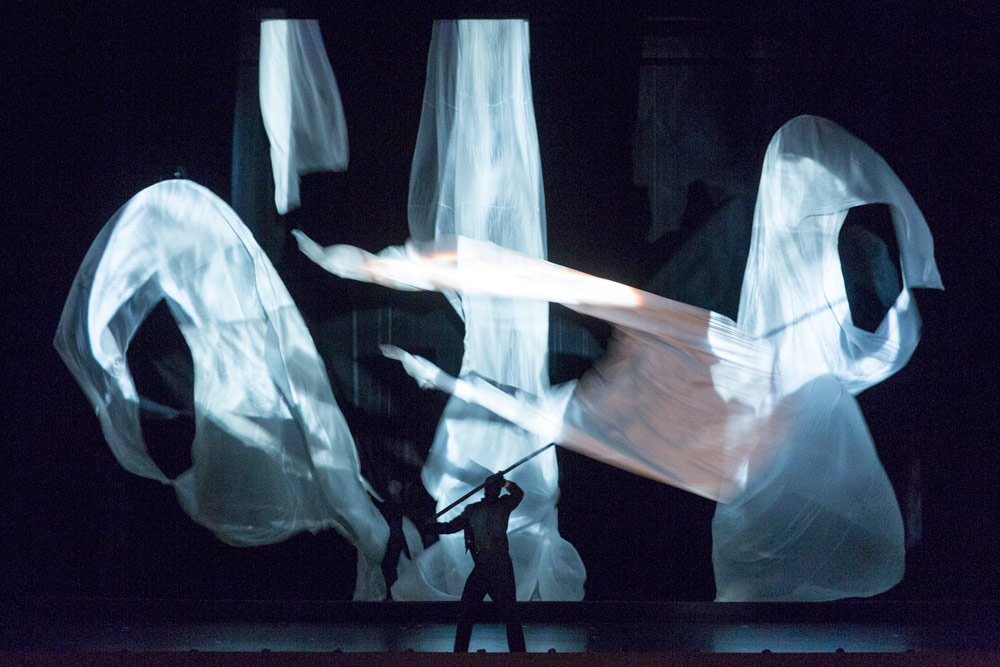 Basil Twist's <I>The Rite of Spring</I>.<br />© Richard Termine. (Click image for larger version)