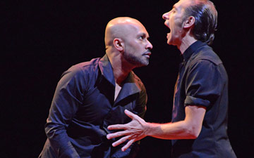 Akram Khan & Israel Galván in Torobaka.© Dave Morgan. (Click image for larger version)