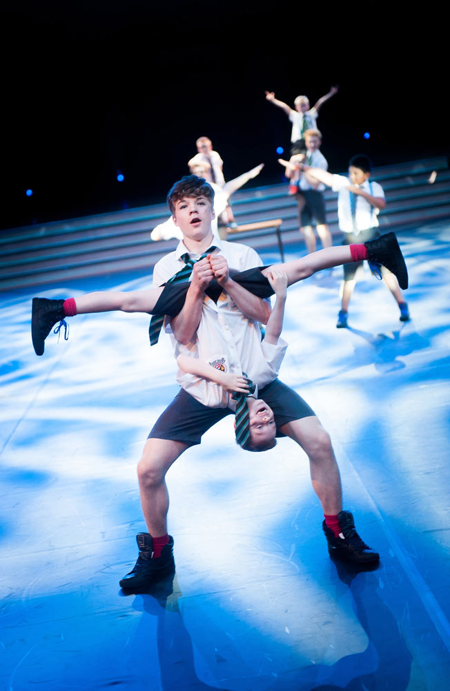 """Aberdeen's Danscentre with <I>Bad Education</I> at Dance Proms 2014.<br />© David Tett at <a href=""""http://www.davidtett.com/"""">www.davidtett.com</a>. (Click image for larger version)"""