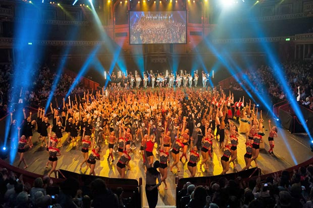 The finale of Dance Proms 2014.© David Tett at www.davidtett.com. (Click image for larger version)