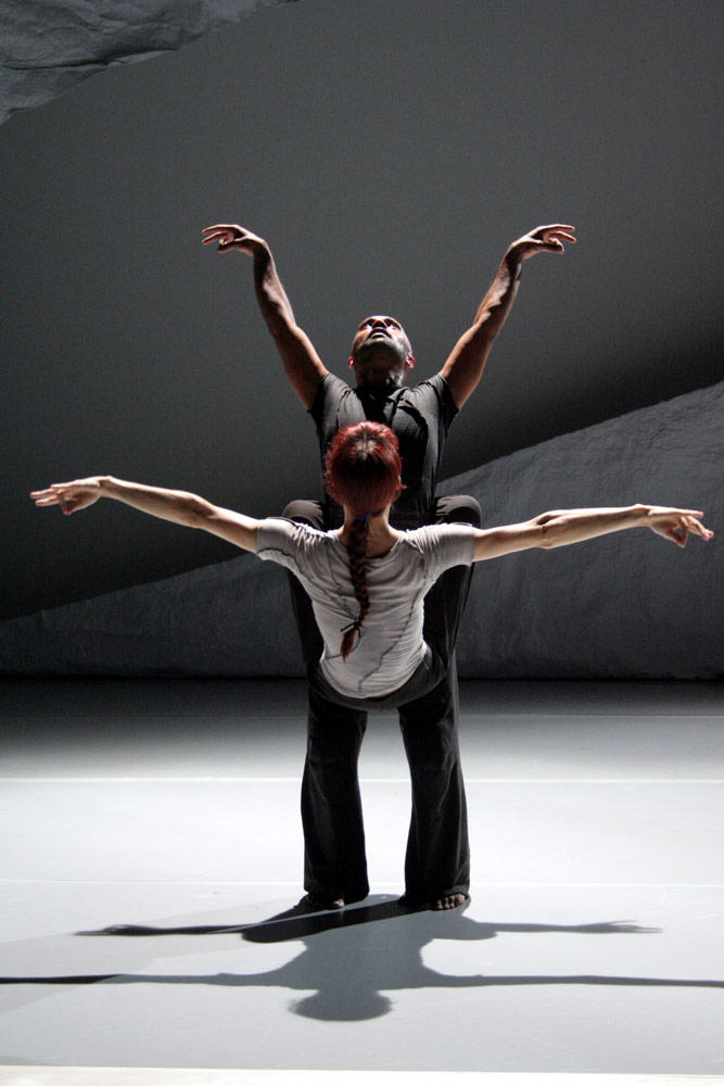 Sylvie Guillem and Akram Khan in <I>Sacred Monsters</I>.<br />© Mikki Kunttu. (Click image for larger version)