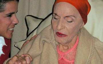 Alicia Alonso at the Gala.© Margaret Willis. (Click image for larger version)
