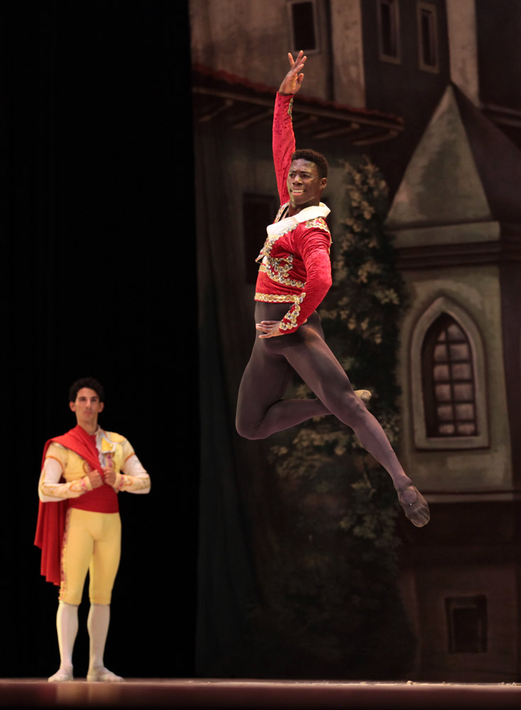 Brooklyn Mack in Don Quixote.© Nancy Reyes. (Click image for larger version)
