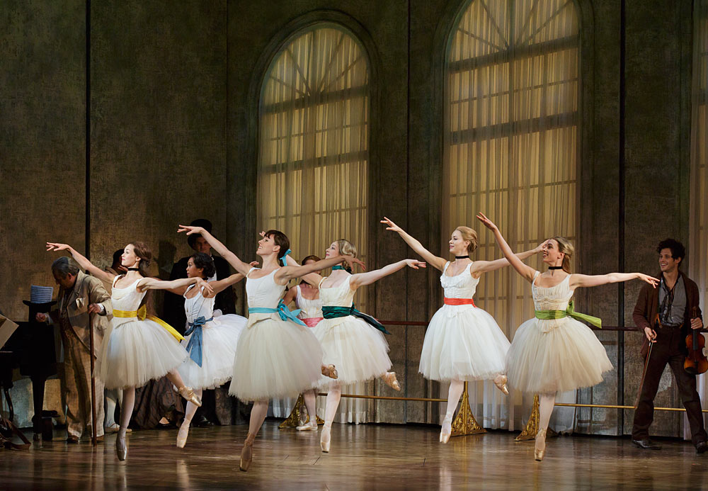 Tiler Peck and Company in <I>Little Dancer</I>.<br />© Paul Kolnik. (Click image for larger version)
