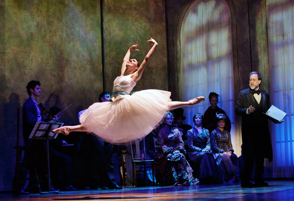 Tiler Peck in <I>Little Dancer</I>.<br />© Paul Kolnik. (Click image for larger version)