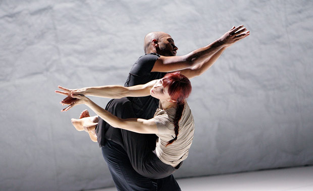 Sylvie Guillem and Akram Khan in <I>Sacred Monsters</I>.<br />© Tristram Kenton. (Click image for larger version)