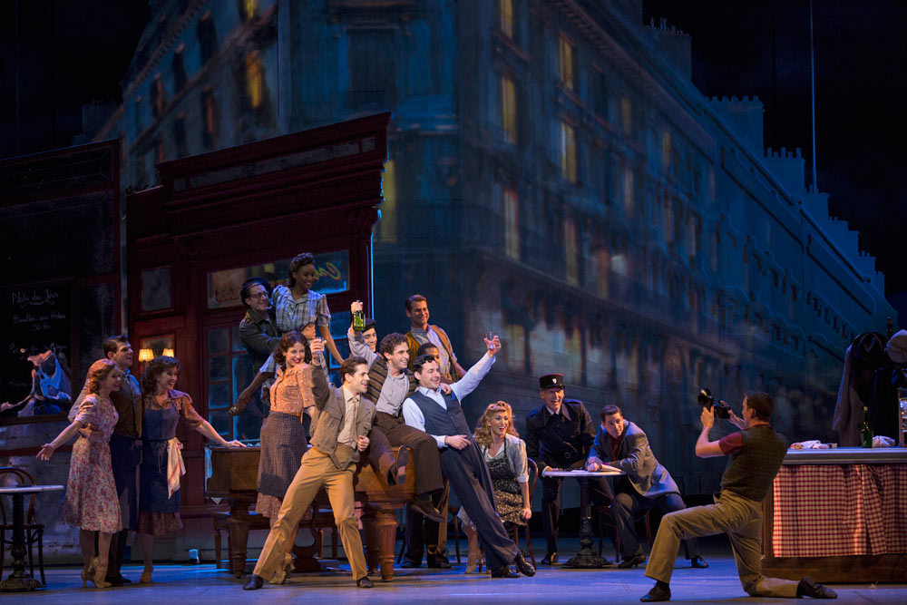 Christopher Wheeldon's <I>An American in Paris</I>.<br />© Angela Sterling. (Click image for larger version)
