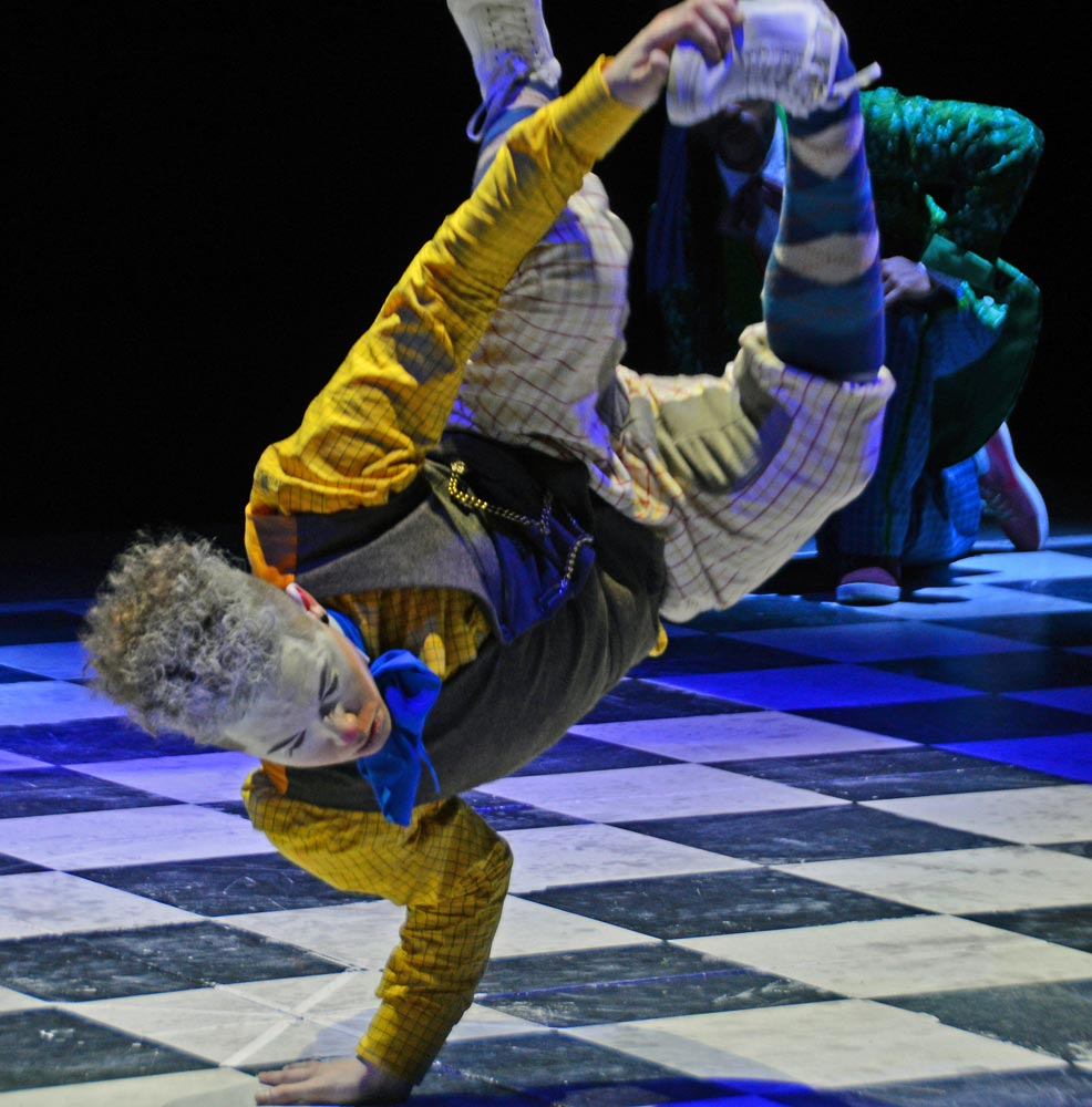 Corey Culverwell in The Mad Hatter's Tea Party.© Dave Morgan, courtesy the Royal Opera House. (Click image for larger version)