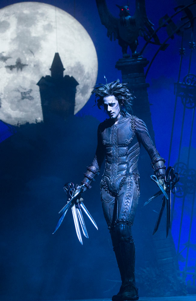 Dominic North in Edward Scissorhands.© Foteini Christofilopoulou. (Click image for larger version)