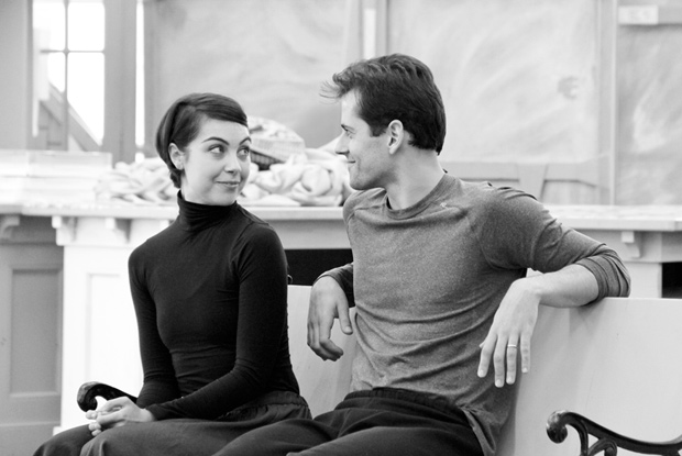 Leanne Cope and Robert Fairchild in rehersals for An American in Paris.© Matt Trent Photography. (Click image for larger version)