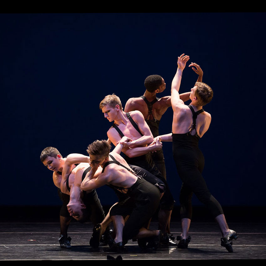 Juilliard Dance in Austin McCormick's La Folia.© Rosalie O'Connor. (Click image for larger version)