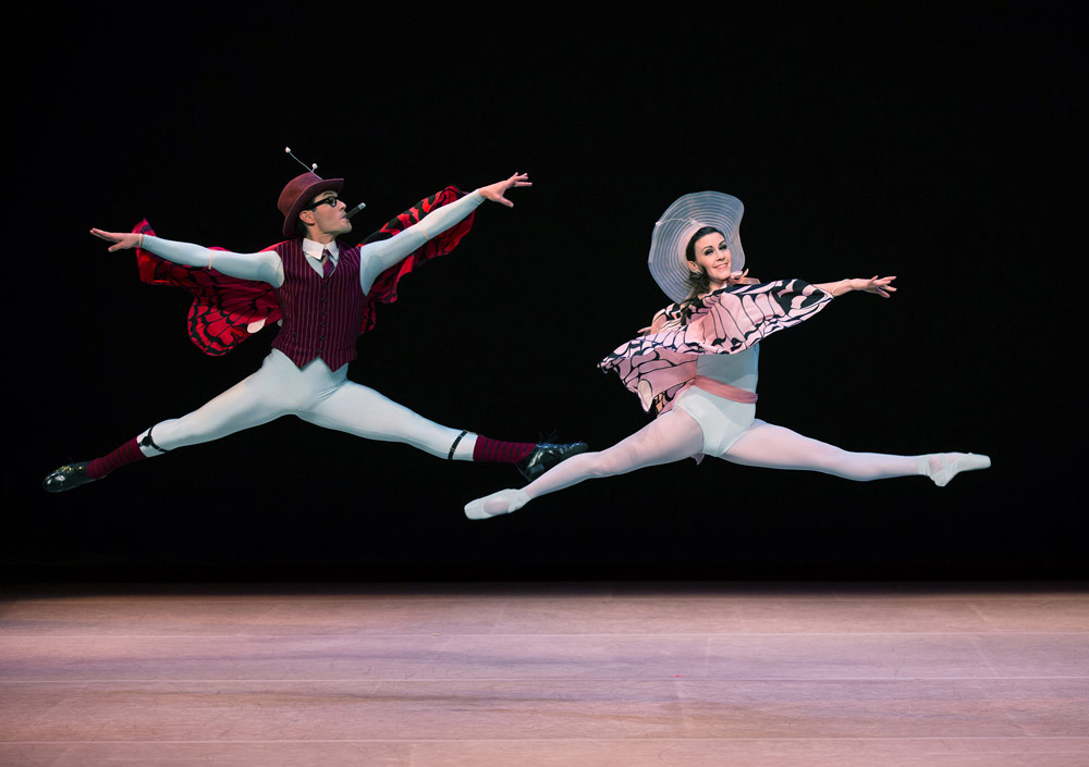 Michael Cook and Elisabeth Holowchuk in <I>The Concert</I> by Jerome Robbins.<br />© Rosalie O'Connor. (Click image for larger version)