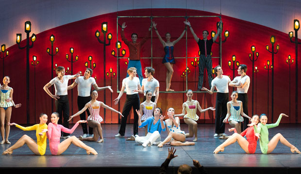 Ballet Nice Mediterranee in <I>Pas de Dieux</I>.<br />© Dominique Jaussein. (Click image for larger version)
