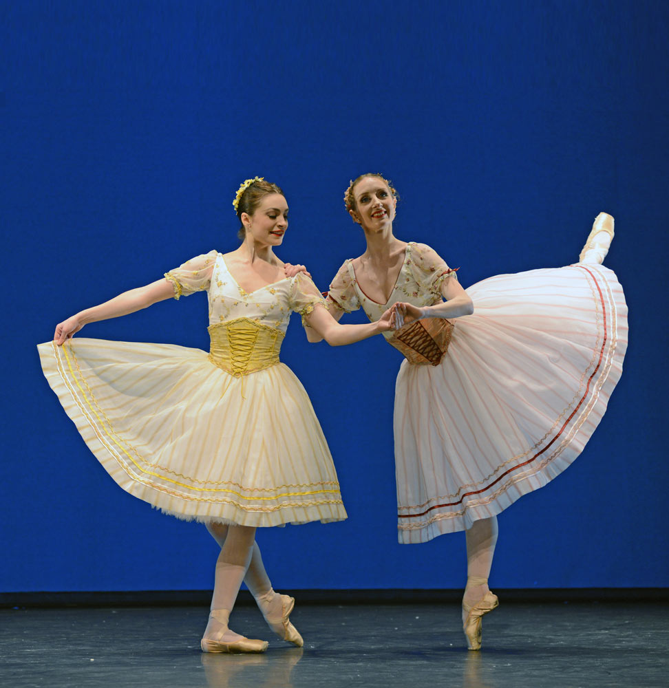 Amy Watson and Kizzy Matiakis in <I>Napoli</I>.<br />© Dave Morgan. (Click image for larger version)