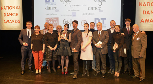 2014 National Dance Awards - The winners (or many of them).<br />© Dave Morgan. (Click image for larger version)