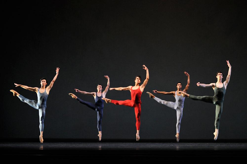 San Francisco Ballet in Tomasson's <I>Concerto Grosso</I>.<br />© Erik Tomasson. (Click image for larger version)